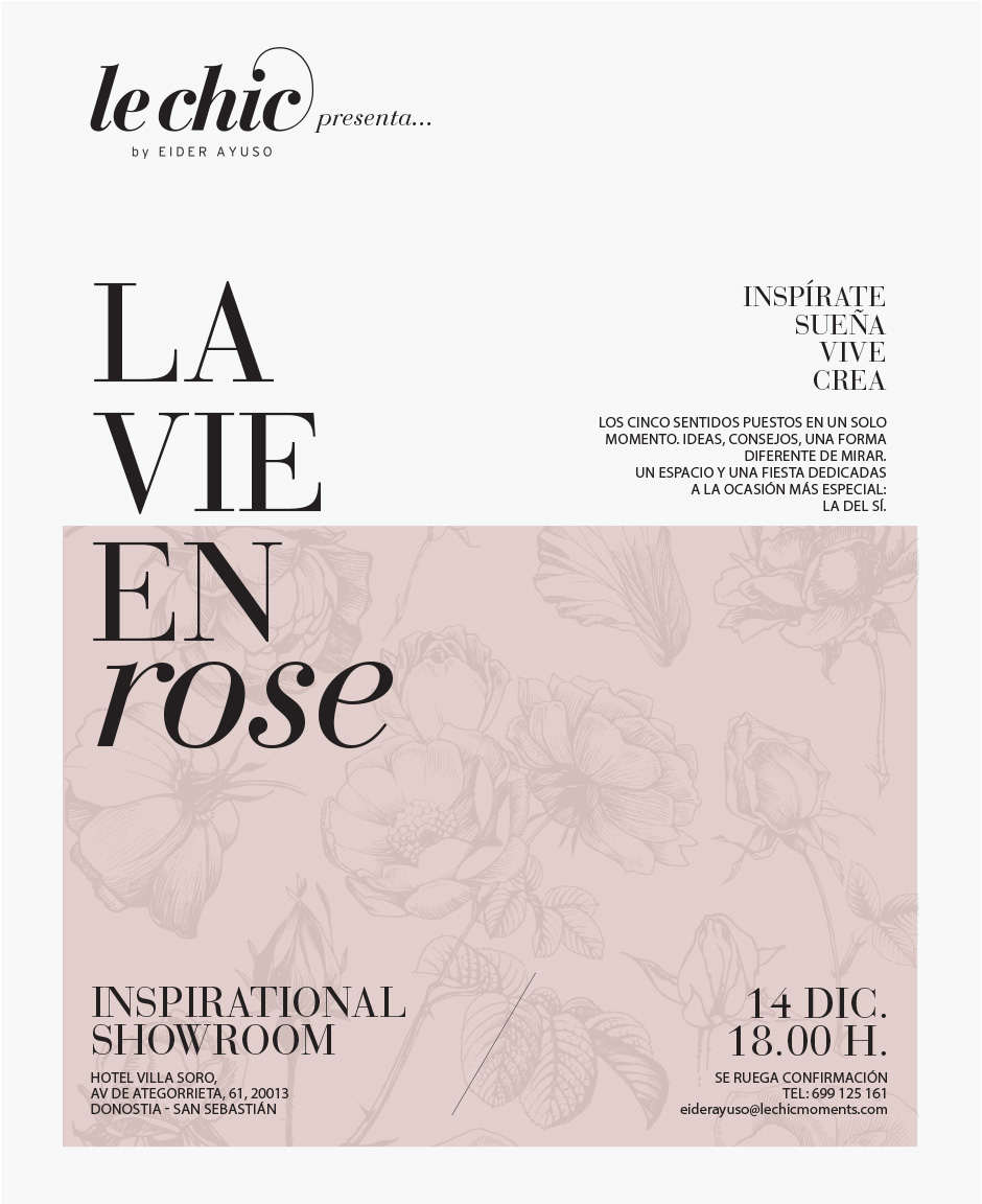 La vie en Rose Inspirational Showroom